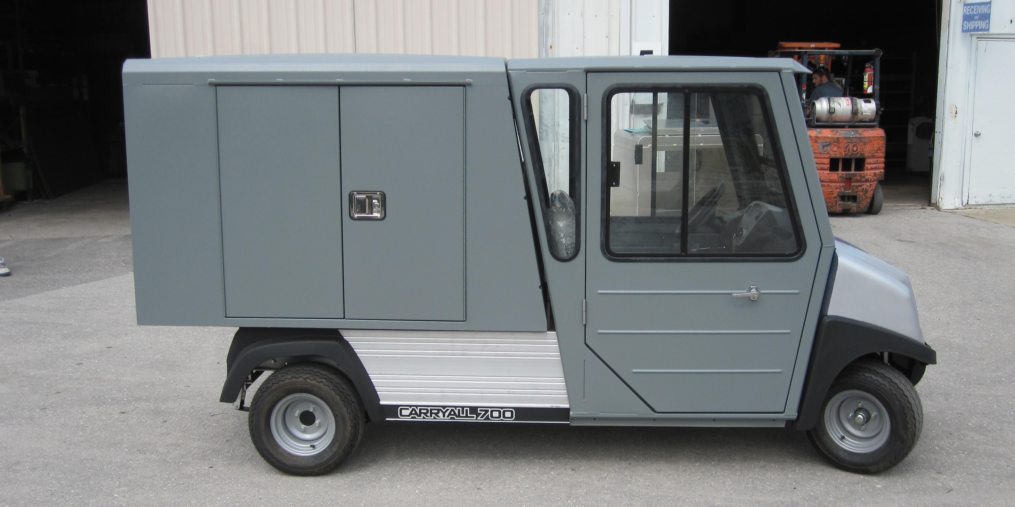 Club Car Carryall on Yamaha Golf Cart Doors